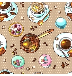 coffee your for design vector image vector image
