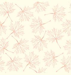 endless autumn vector image