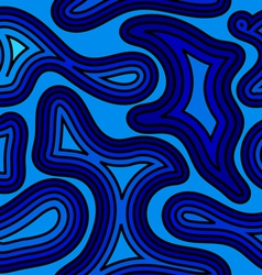 Seamless pattern with sea wave vector image vector image