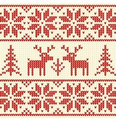Sweater with deer vector