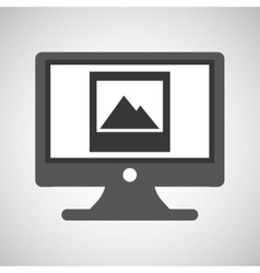 technology monitor pc image photo vector image vector image