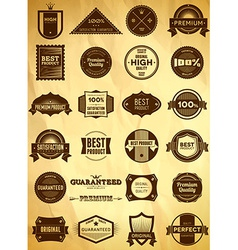 Vintage labels big collection 3 vector