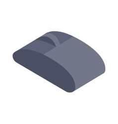 Computer mouse icon Isometric vector image