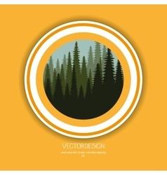 Nature icon design vector image vector image