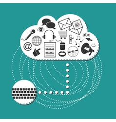 Cloud system user interface vector