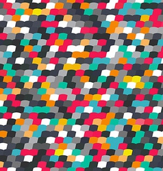 colorful tile seamless pattern vector image vector image