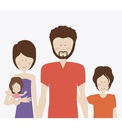 Family desing vector