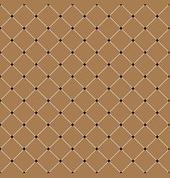 vintage cross lines pattern or background vector image vector image