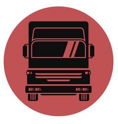 Icon truck vector
