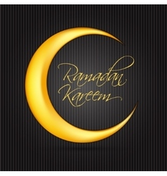 Ramadan kareem background design vector