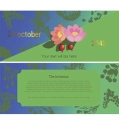 The invitation 4 vector