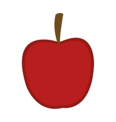whole apple icon vector image vector image