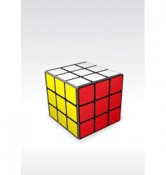 rubics cube vector image