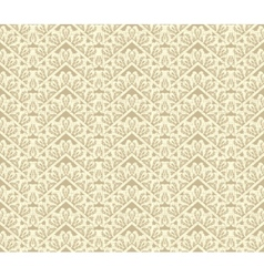 Ornate weave background Seamless pattern vector image