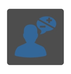 Arguments icon vector