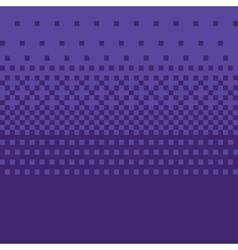 Pixel art style purple gradient background vector