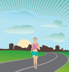 exercise vector image