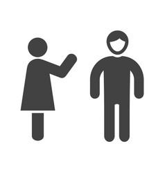 negotiating skills vector image