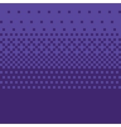 Pixel art style purple gradient background vector image