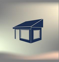 showcase icon vector image
