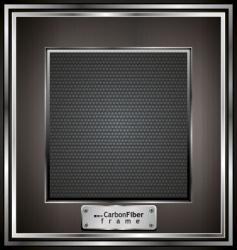 carbon fiber frame vector image