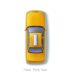 New york taxi vector