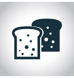 2 toasts flat icon vector