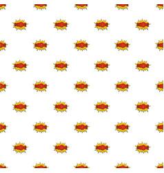 Comic boom big pattern seamless vector