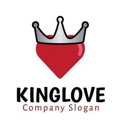 King Love Design vector image vector image