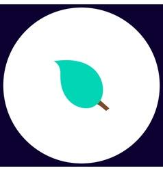 Leaf computer symbol vector
