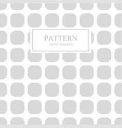 square seamless geometric pattern vector image