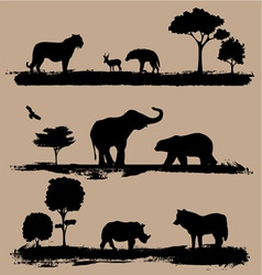 Wildlife vector