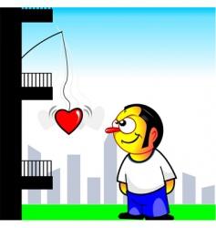 Love carton vector