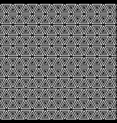 seamless pattern background triangle retro vector image vector image
