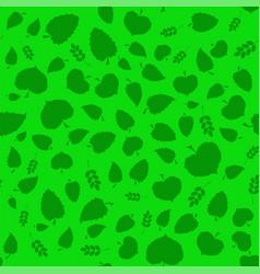 Summer green leaves vector