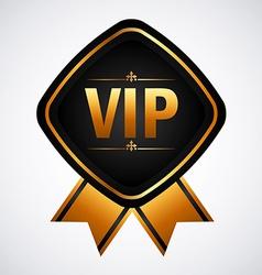 vip membership vector image