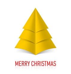 Merry christmas corner paper 20 vector
