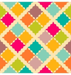 Retro colorful seamless pattern vector