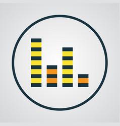 Audio mixer colorful outline symbol premium vector