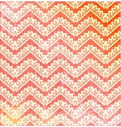 Lace vintage background with chevron vector