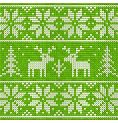 Sweater with deer vector image vector image