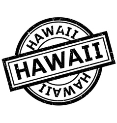 Hawaii rubber stamp vector image
