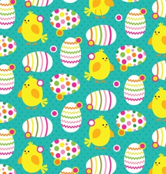 Chicks and eggs vector