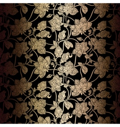 Abstract seamless background with antique luxury vector