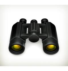 Binoculars vector image