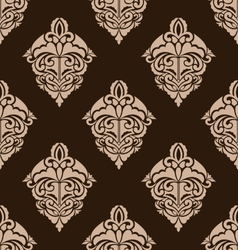 Damask Seamless Ornate Pattern vector image vector image