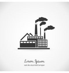 Factory logo vector