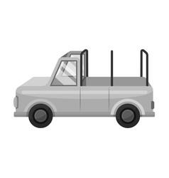Machine for safariafrican safari single icon in vector