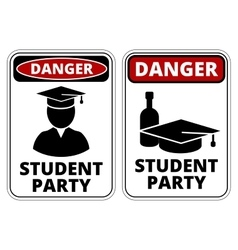 Student party vector