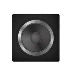 Audio speakers for car vector